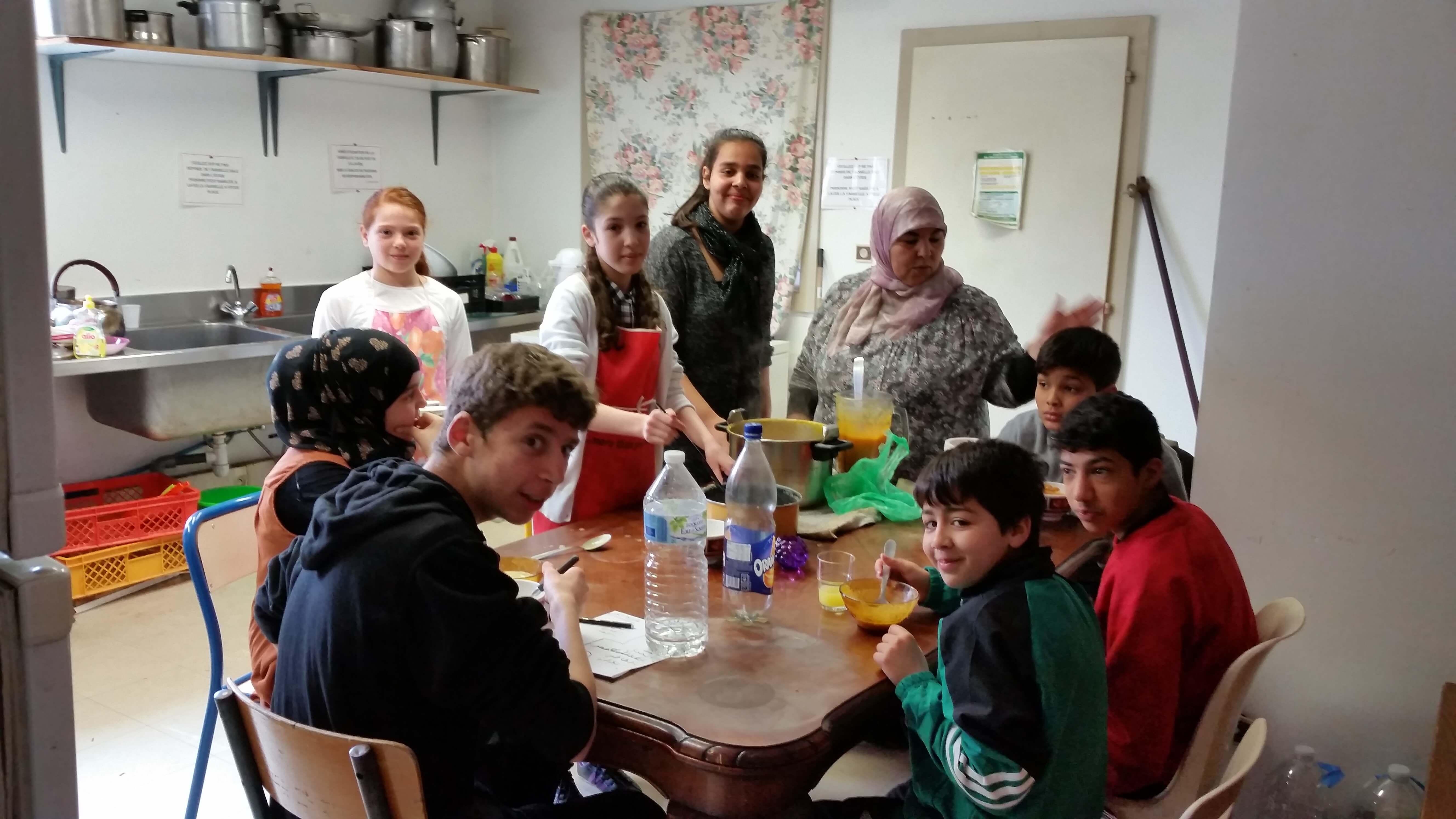 Atelier cuisine pour les enfants al andalous - Atelier cuisine pour enfant ...